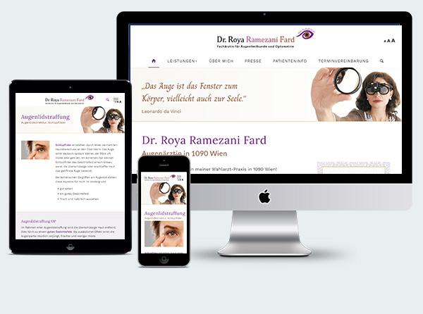 Arzthomepage Augenärztin Wien