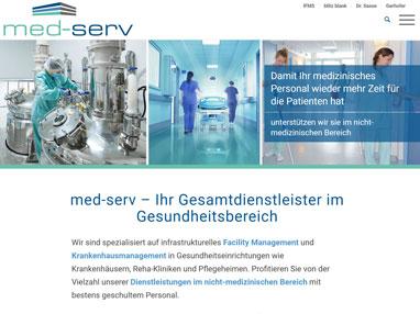 Homepage erstellen für Gesundheitsbereich
