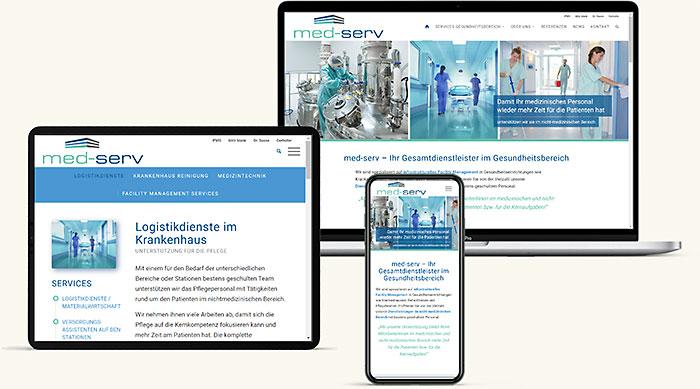 Homepage Gesundheitsbereich St. Pölten