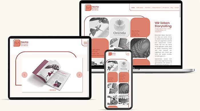 Website Kreativagentur Wr. Neustadt
