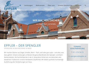 Homepage Spengler Wien