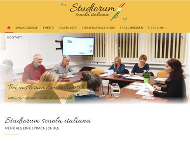 Homepage Sprachschule Moedling